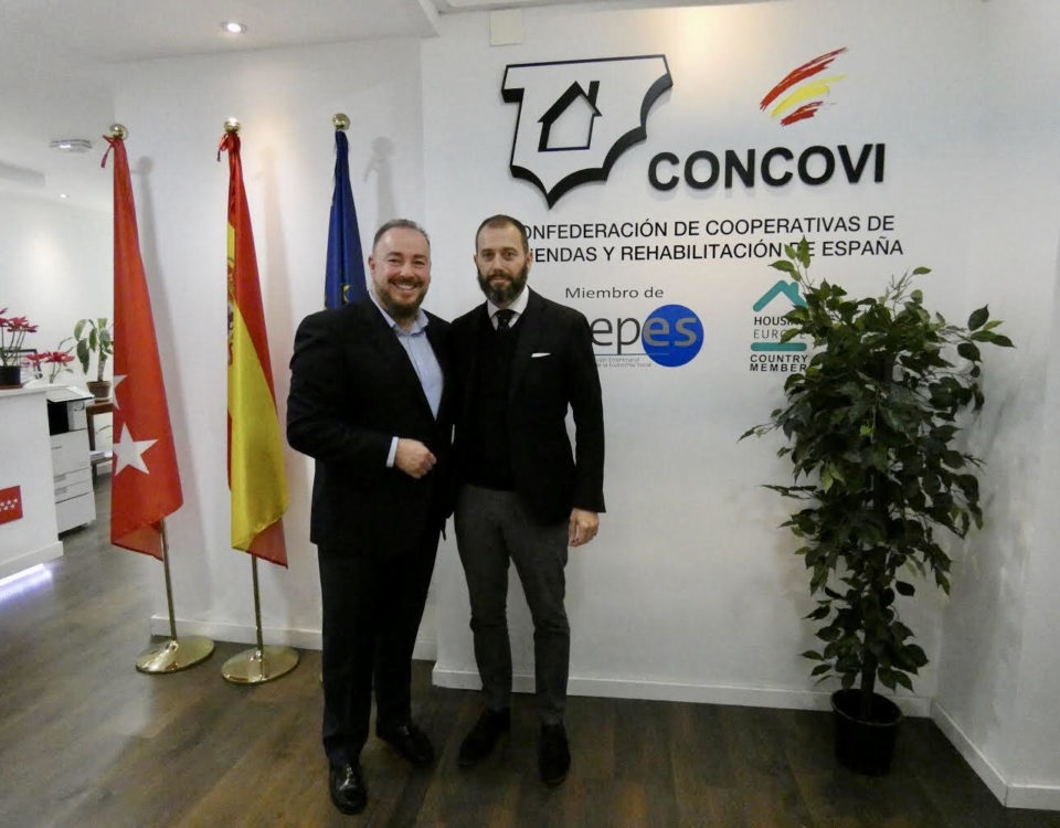 juan Casares y Antonio Tornay en CONCOVI